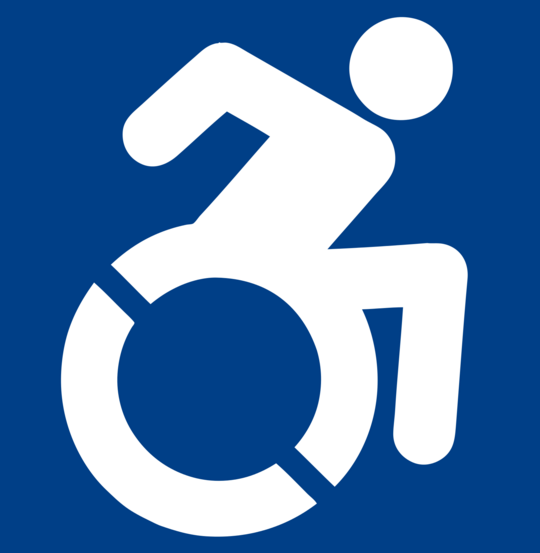 Proposed New Wheelchair Access Sign